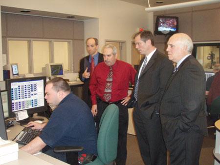 County Executive Hosting Tour of 9-1-1 Dispatch Center - photo 1