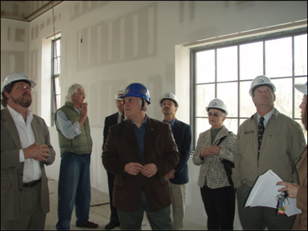 Touring Construction Progress at Beacon Institute for Rivers and Estuaries Building One - photo 2