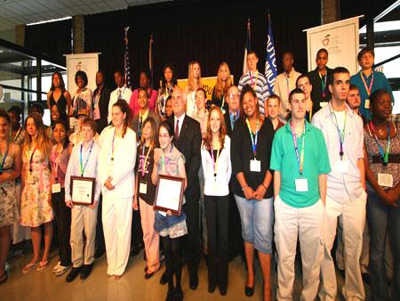 County Executive Celebrates Youth Achievement Awards Photographs - photo 1