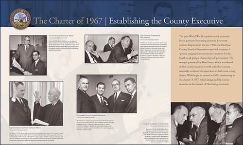 The Charter of 1967 - Establishing the County Executive image