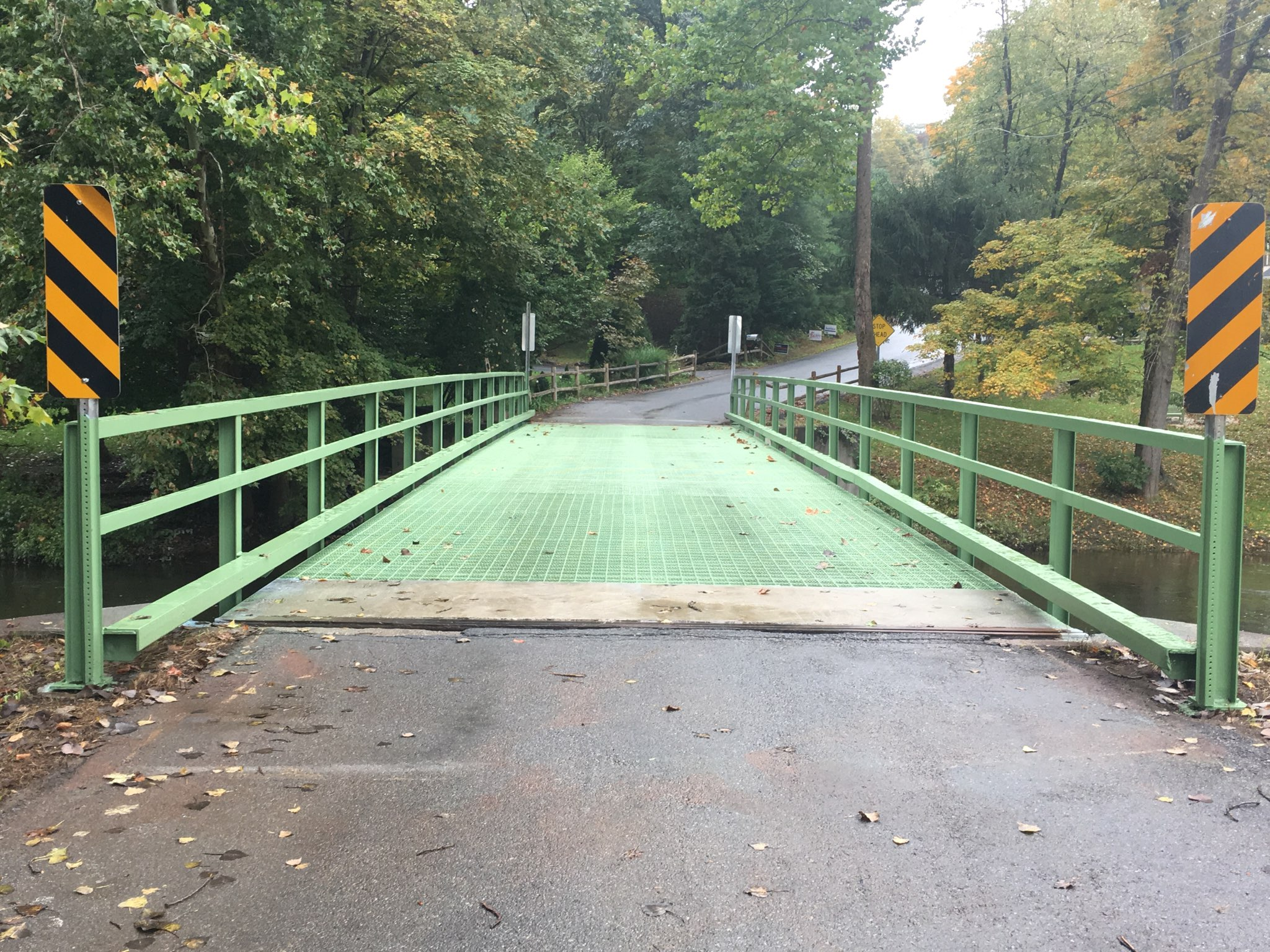 The Dutchess County Department of Public Works (DPW) has announced Bridge PV-10 on Hurley Road over the Wappinger Creek in the Town of Pleasant Valley has reopened to traffic.