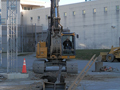 Site excavation work at the Dutchess County Jail