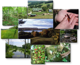 Montage of Natural Resources of Dutchess County