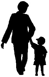 Adult and Child graphic