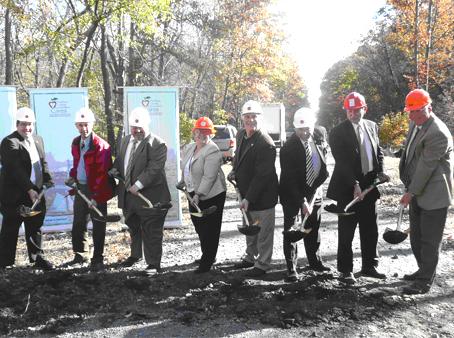 Steinhaus Breaks Ground for Dutchess Rail Trail - photo 1