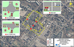 Fishkill Traffic Analysis Luyster - Cary - Weston Map