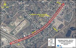 Fishkill Traffic Analysis Rt. 52 Corridor Map