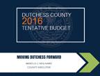 2016 Tentative Budget