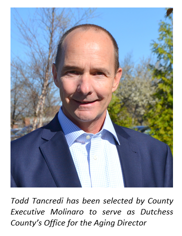 Office for the Aging Director Todd Tancredi