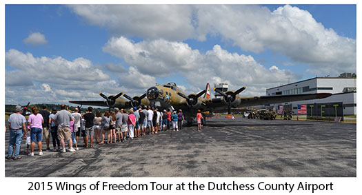Wings of Freedom Tour at Dutchess County Airport