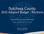 2015 Adopted Budget - Positions