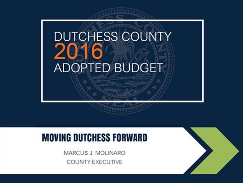 2016 Dutchess County Budget