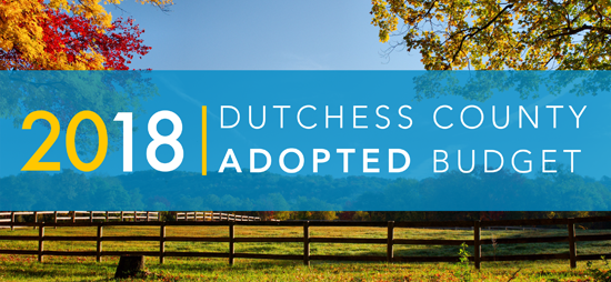 2018 Dutchess County Adopted