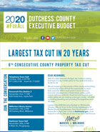 2020 Budget in Brief cover, thumbnail