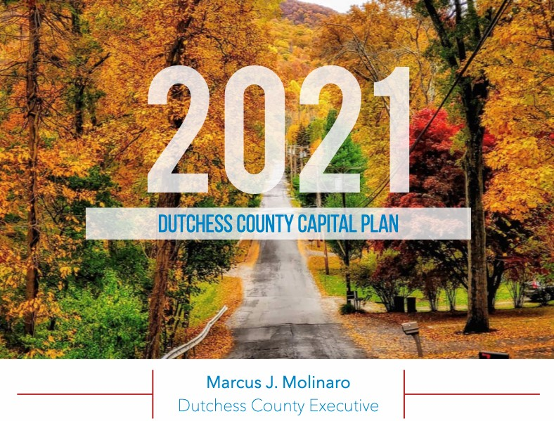 Cover of the 2021 Capital Plan