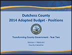 2014 Adopted Budget - Positions