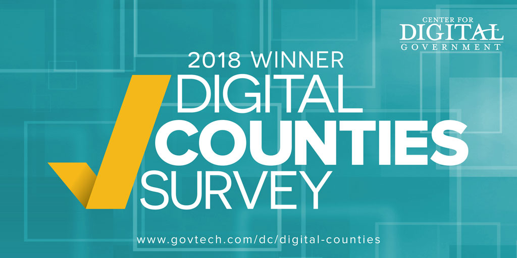 Dutchess County Government is the number one ranked mid-size county government for its use of technology to improve services and boost efficiencies to better serve residents in the 2018 Digital Counties Survey.