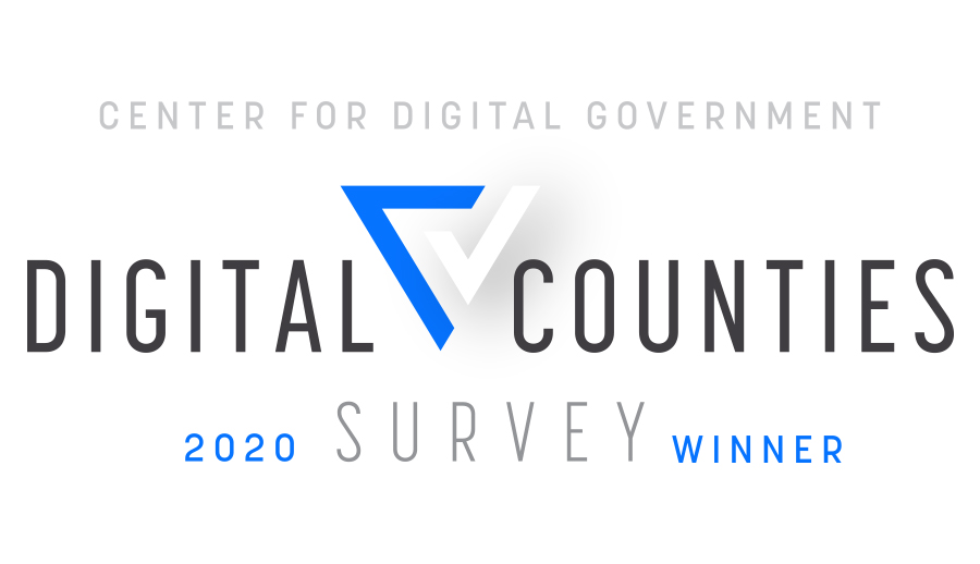 2020 Digital Counties Survey logo