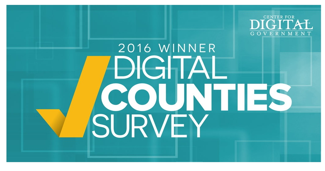 2016 Digital Counties Survey winner