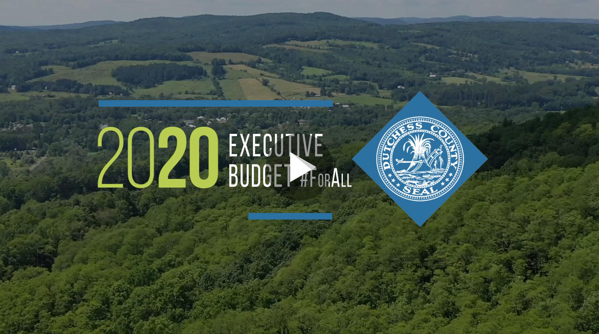 Screenshot of 2020 Budget Announcement video