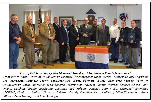 County Executive Molinaro with local officials