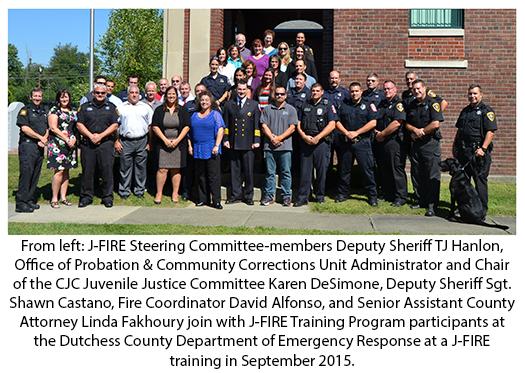 J-Fire Steering Committee members