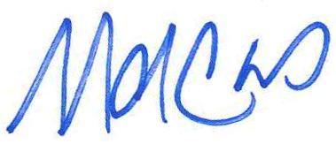 Marcus Molinaro signature