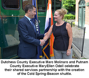 County Executive Molinaro with Putnam County Executive Odell