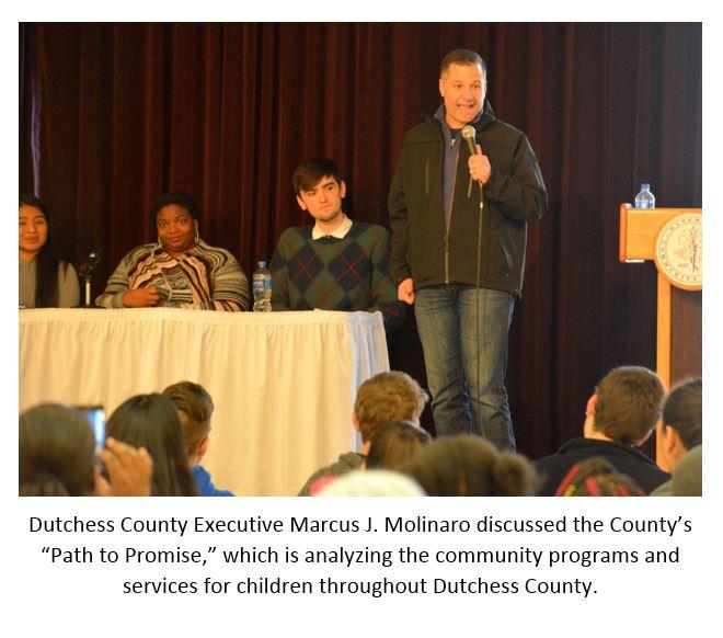 County Executive Marcus J Molinaro