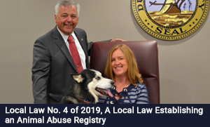 be Local Law No. 4 of 2019, A Local Law Establishing an Animal Abuse Registry