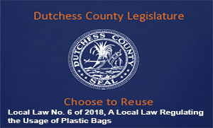 Local Law No. 6 Regulating the use of plastic bags