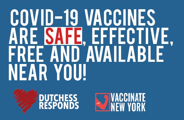COVID-19 vaccines are safe, effective, free and available near you!