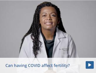 Can having COVID affect fertility