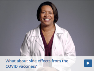 What about side effects from the COVID vaccines