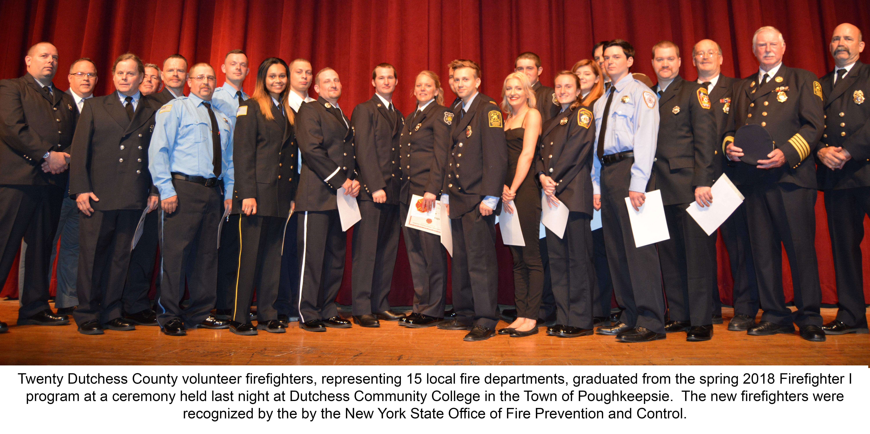 2018 Firefighter 1 Graduates