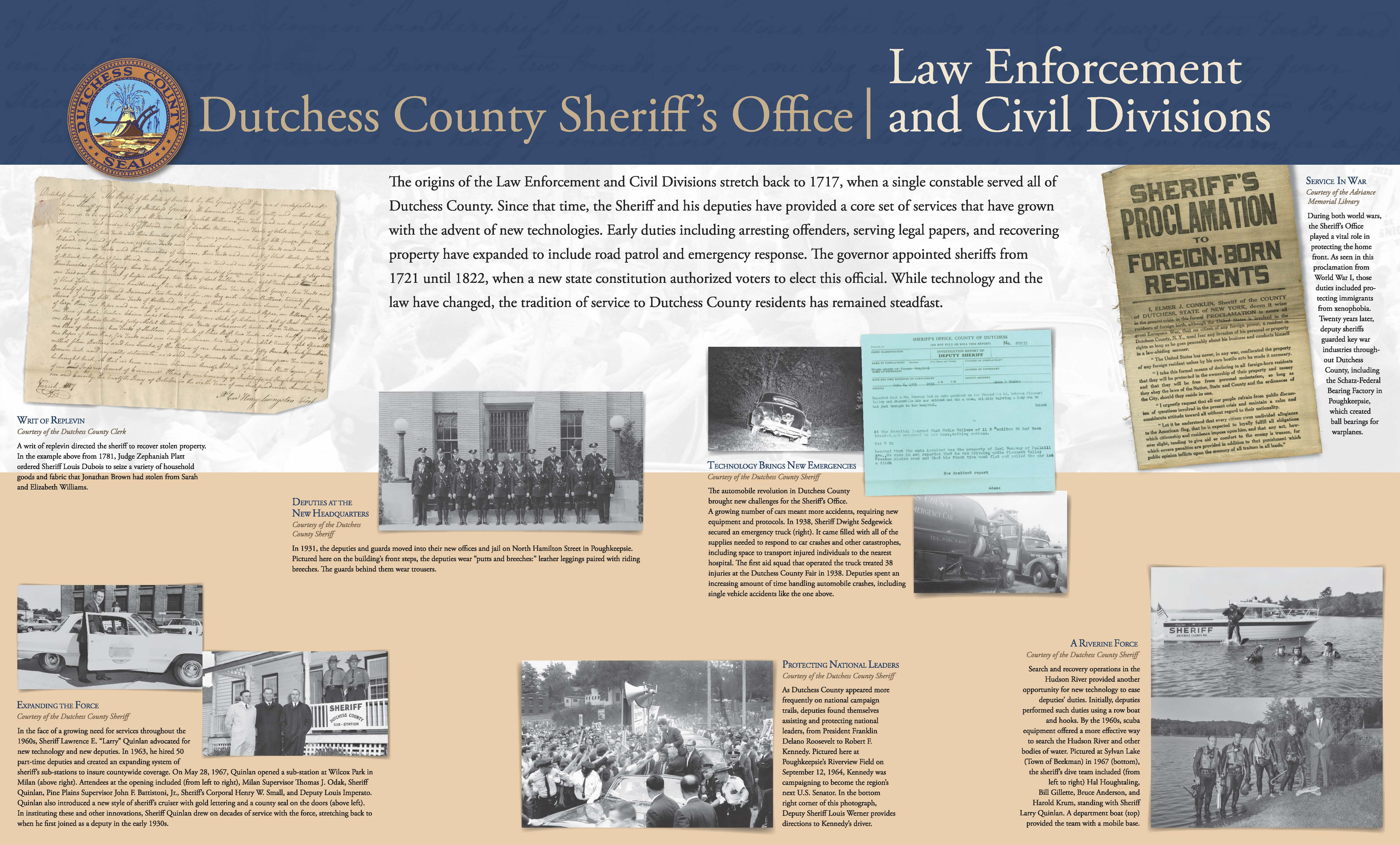Dutchess County Sheriff's Office - Law Enforcement and Civil Divisions