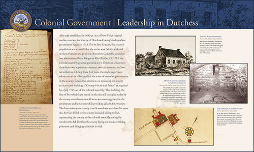 Colonial Government - Leadership in Dutchess