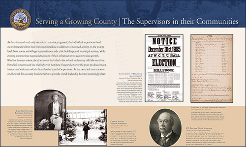 Serving a Growing County - The Supervisors in their Communities