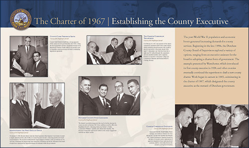 The Charter of 1967 - Establishing the County Executive
