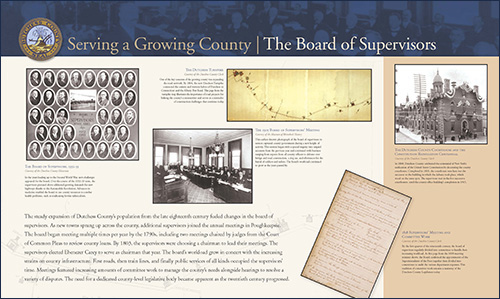 Serving a Growing County - The Board of Supervisors