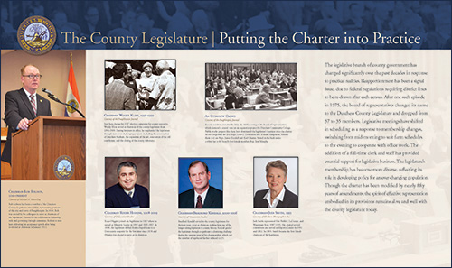 The County Legislature - Putting the Charter into Practice
