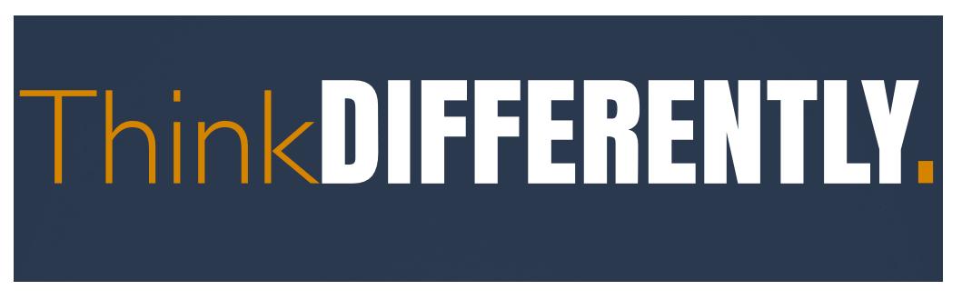 ThinkDIFFERENTLY logo