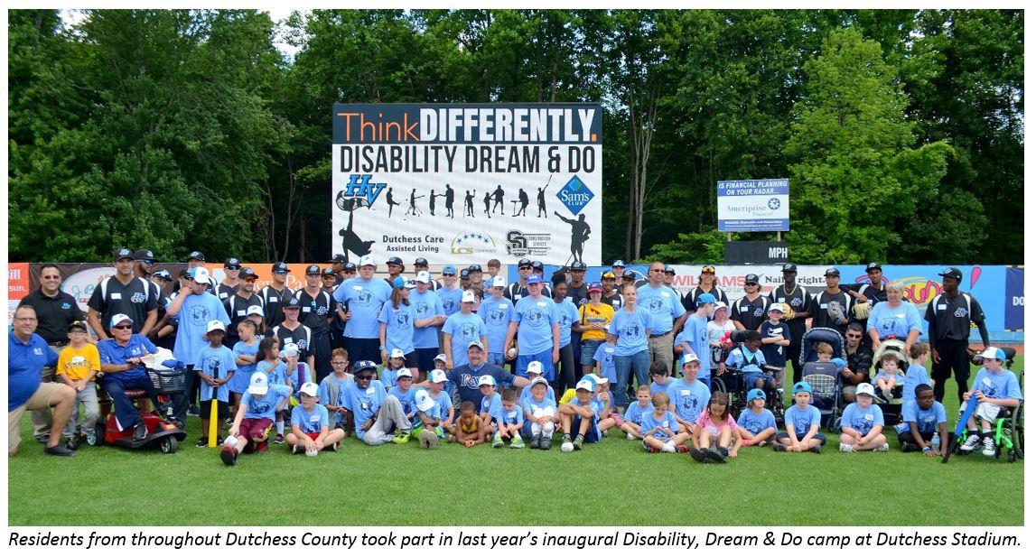 Disability, Dream & Do Camp participants